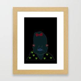 Baby on board Framed Art Print
