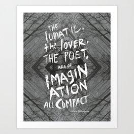 Imagination all Compact Art Print