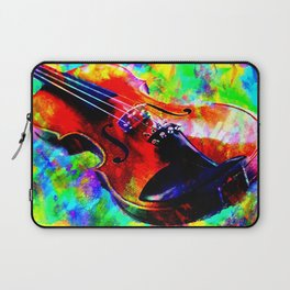 Violin Abstract Laptop Sleeve