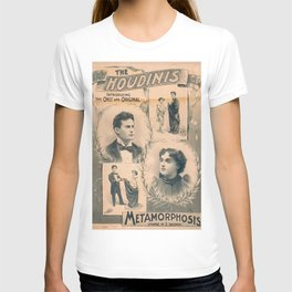 Houdini, Metamorphosis, vintage poster T-shirt
