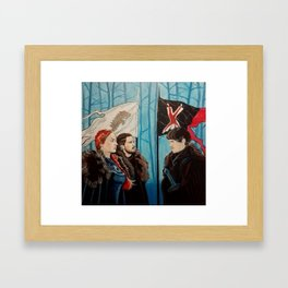 Juego de tronos games thrones Framed Art Print