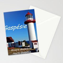 Riviere Madeleine Lighthouse , Gaspésie Stationery Cards