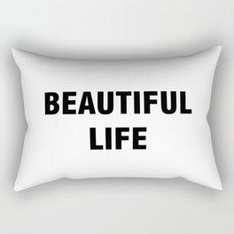 Beautiful Life Rectangular Pillow