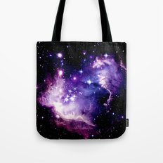 Galaxy .  Deep Purple & Blue Tote Bag
