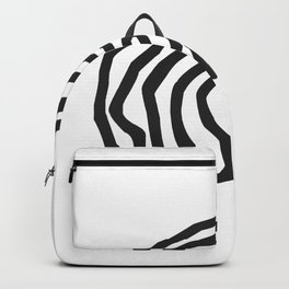 Tribal Print B&W- 06 Backpack