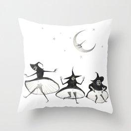 Witches' Sabbath Throw Pillow