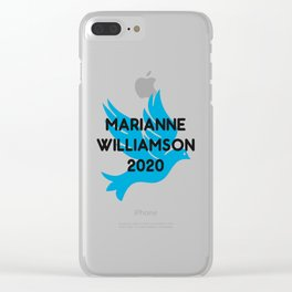 Marianne Williamson For President 2020 Clear iPhone Case