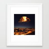 witchoria Framed Art Prints featuring Little Dreamer by witchoria