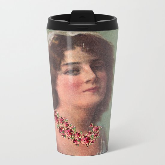 Josephine's Diamonds Metal Travel Mug