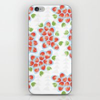 hawaii iPhone & iPod Skins featuring Hawaii by K I R A   S E I L E R