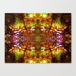 Tree of Life Abstract Canvas Print