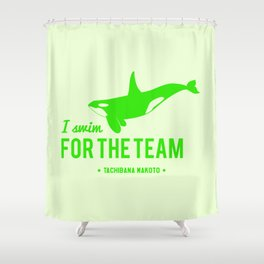 FOR THE TEAM - Tachibana Makoto Shower Curtain