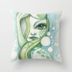 Voice Of The Sea Throw Pillow