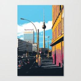 Alexanderplatz Canvas Print
