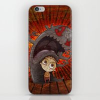 fear iPhone & iPod Skins featuring Fear by José Luis Guerrero