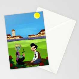 C/B The Braniac That Never Smiled Stationery Cards