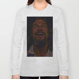 The Dude (Lebowski Screenplay print) Long Sleeve T-shirt