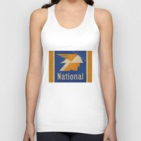 the national Tank Tops featuring National Logo by Bruce Stanfield