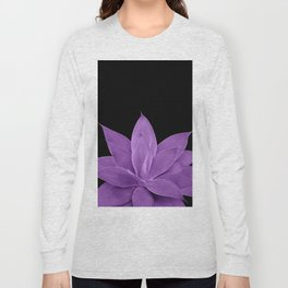Purple Agave #1 #tropical #decor #art #society6 Long Sleeve T-shirt