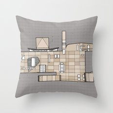 Fachada Throw Pillow