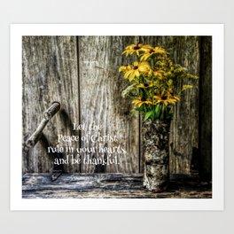 Summer Thankfulness Art Print