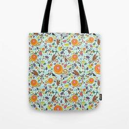Cute Rainforest Pattern Tote Bag