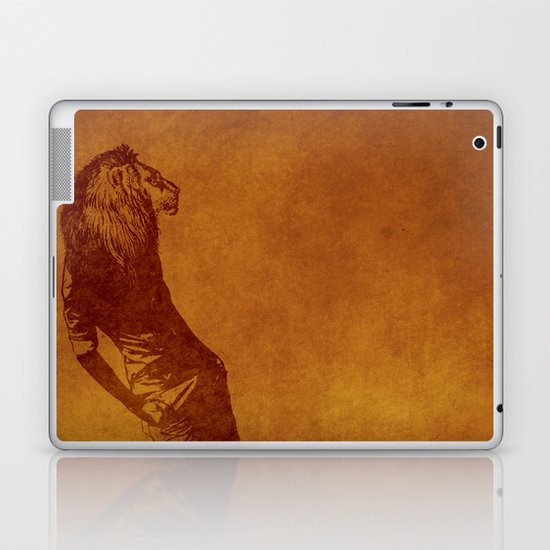 sexy lion Laptop & iPad Skin