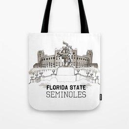 FSU Print *NEW Lettering* Tote Bag