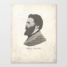 Herman Melville Canvas Print