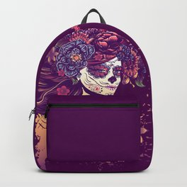 Calavera girl Backpack