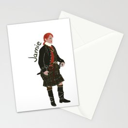 Jamie Fraser (Outlander) Stationery Cards