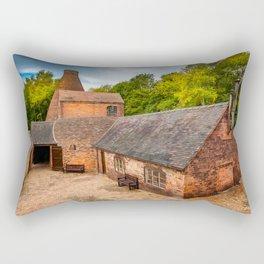 Bottle Kiln Coalport Rectangular Pillow