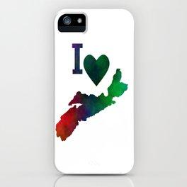I Love Nova Scotia iPhone Case