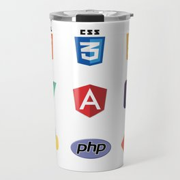 Developers Stickers  9 in 1 Travel Mug