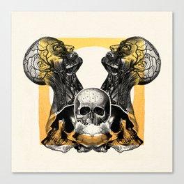 Skull Sunrise Canvas Print