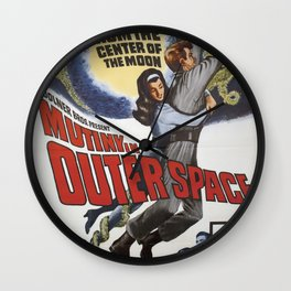 From The Center Of The Moon Wall Clock
