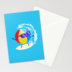 Lets Surf The Ocean Together! Stationery Cards