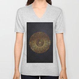 -A27- Original Heritage Moroccan Islamic Geometric Artwork. Unisex V-Neck