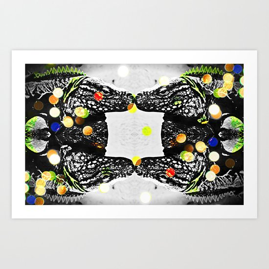 FLY MOSQUITO FLY Art Print