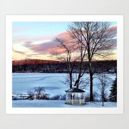 Winter Bliss Art Print
