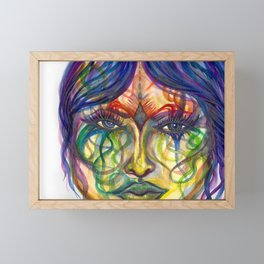 Fortune Teller Framed Mini Art Print