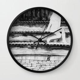 Empty Bodies Wall Clock