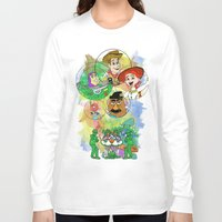 pixar Long Sleeve T-shirts featuring Disney Pixar Play Parade - Toy Story Unit by Joey Noble