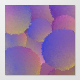 Purple Nuclear Fusion Canvas Print