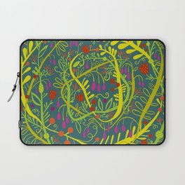 Dark Garden Gone Wild Laptop Sleeve