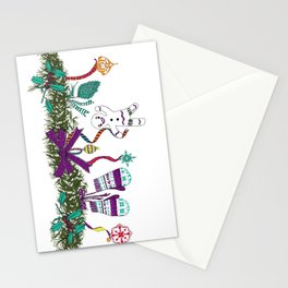 Christmas Garland I Stationery Cards