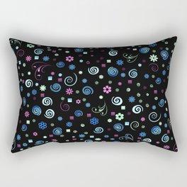 Groovy Baby Blues Rectangular Pillow