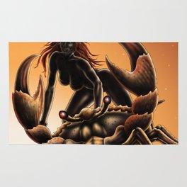 cancer- zodiac Rug