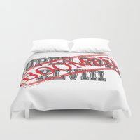 nfl Duvet Covers featuring Seahawks' Super Bowl WIN by kltj11