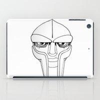 doom iPad Cases featuring Doom BW by wa55up